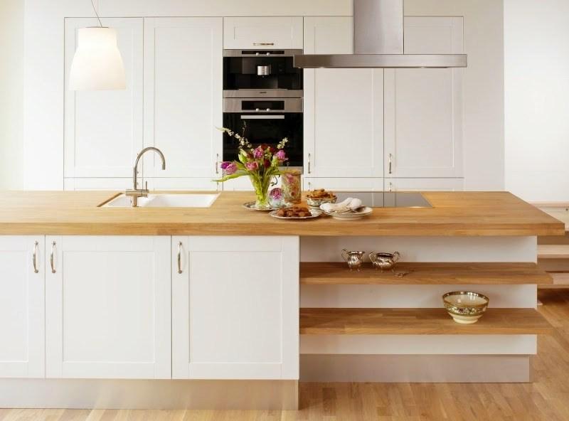 Преимущества деревянной столешницы для кухни