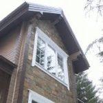 Отделка фасадов деревянного дома