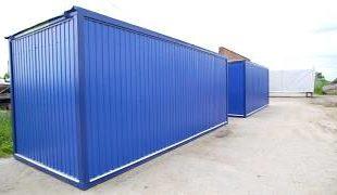 Блок контейнеры и строительные бытовки - отдых с комфортом