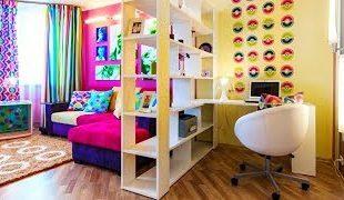 Зонирование комнаты для детей